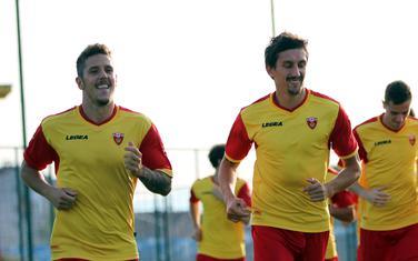 Savić i Jovetić u dresu reprezentacije