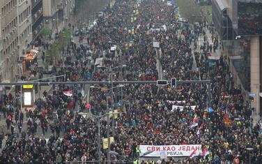 Subotnji protest u Beogradu
