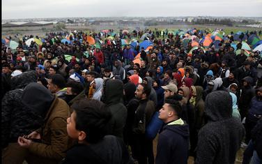 Migranti u kampu u Grčkoj