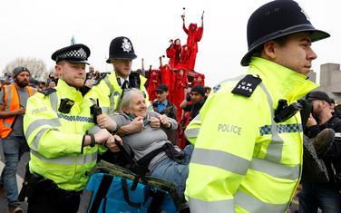 Hapšenje aktivista danas u Londonu