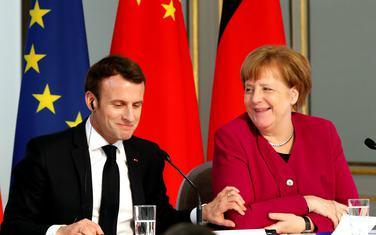 Makron i Merkel