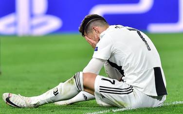 Kristijano Ronaldo nakon meča
