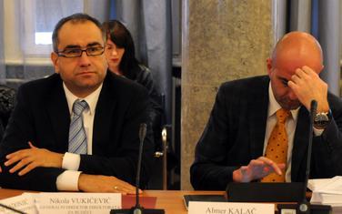 Vukićević (lijevo)