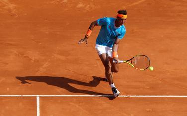 Rafael Nadal na meču sa Grigorom Dimitrovom