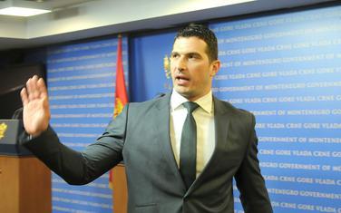 Ministar sport Nikola Janović