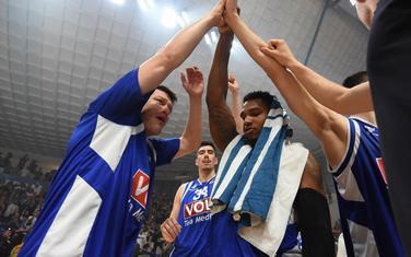 Slavlje košarkaša Budućnosti