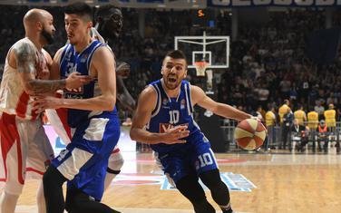 Nemanja Gordić na večerašnjoj utakmici
