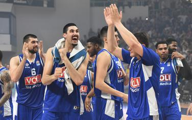 Slavlje navijača košarkaša Budućnost Volija