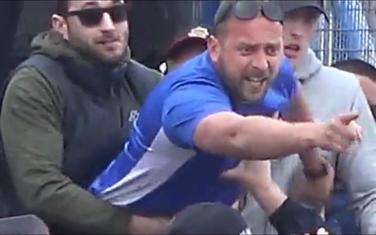 Vukadinović neposredno po zatvršetku utakmice Sutjeska - Budućnost
