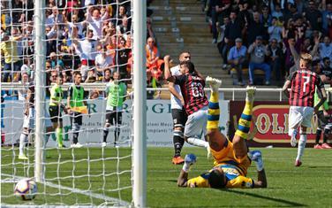 Kastiljeho postiže gol za Milan