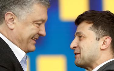 Porošenko i Zelenski