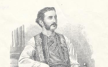 Nicolas prince du Montenegro. Objavljeno 1869. godine u L'Univers illustre