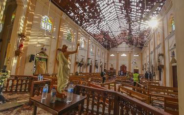 Većinu napada su izveli bombaši samoubice: Crkva Svetog Sebastijana