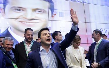 Telenski nakon pobjede na izborima