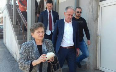Advokatica Zorica Novaković nakon suđenja (iz arhive)