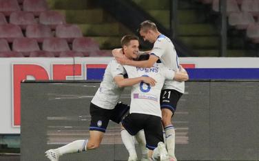 Fudbaleri Atalante slave drugi pogodak
