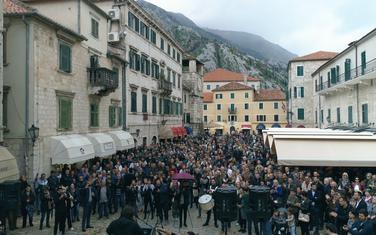 Sa protesta u Kotoru