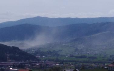 Prašina sa Maljevca dolazila i do grada
