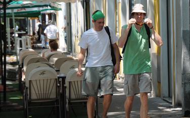 Turisti u Podgorici (ilustracija)