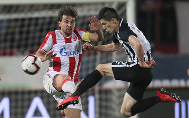 Sa utakmice Crvena zvezda - Partizan