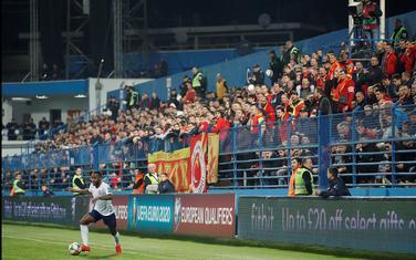 Sa meča Crna Gora - Engleska