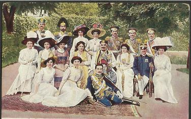 Kralj Nikola sa porodicom