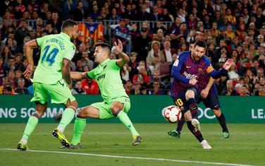 Leo Mesi postiže gol za titulu