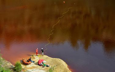 Jezero u kome je pronađeno tijelo žrtve