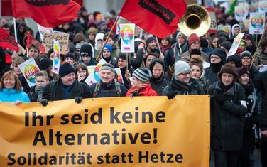 Njemački desničari: Ilustracija