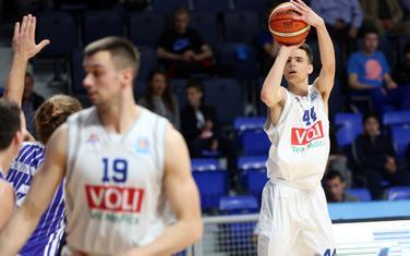 Fedor Žugić je prvi put ubacio dvocifren broj poena (12) u dresu Budućnost Volija
