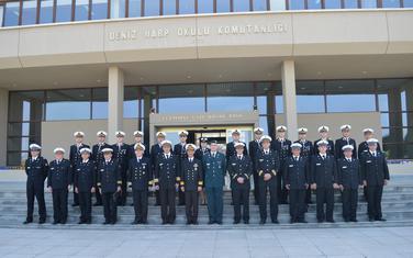 """Posjeta mornaričkoj akademiji """"Deniz Harp Okulu"""""""