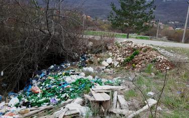 Deponija u mjestu Most Jugovića