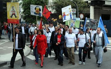 Sa ranijih protesta sindikalaca
