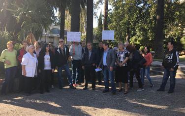 Sa protesta bivših radnika