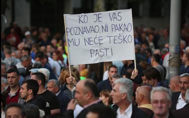 Sa protesta održanog 20. aprila