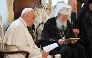 Papa Franjo u bugarski Patrijarh Neofit