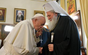 Papa Franjo i bugarski patrijarh Neofit