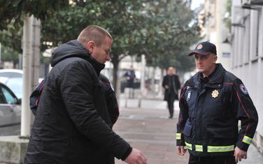 Čovjek na kome počiva optužnica: Sinđelić ispred Višeg suda