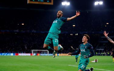 Lukas Moura slavi gol za finale
