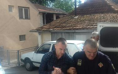 Đukića juče sprovode u zgradu suda u Bijelom Polju