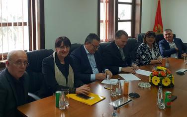 Potpisivanje ugovora o aneksu