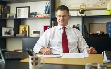 Predsjednik Narodne stranke Vuk Jeremić