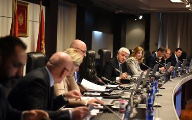 Sa sjednice Vlade Crne Gore