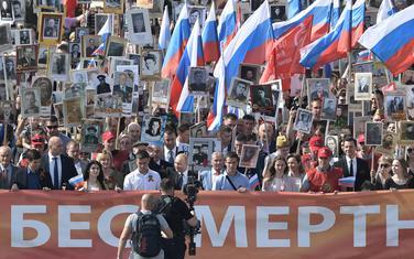 U maršu je učestvovao i predsjednik Rusije Vladimir Putin
