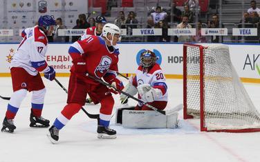 Putin na meču