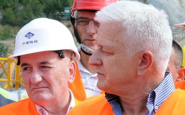 Premijer Marković i ministar Nurković