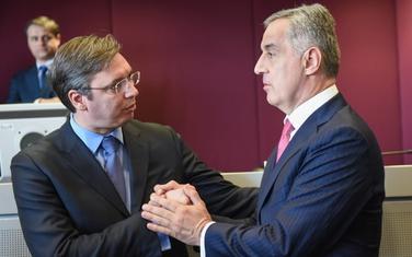 """Medojević optužio Vučića da je """"namjestio lažni državni udar u Crnoj Gori"""", presuda neće radikalizovati odnose?: Vučić i Đukanović"""