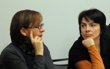 Tadić Mijović i Milena Perović