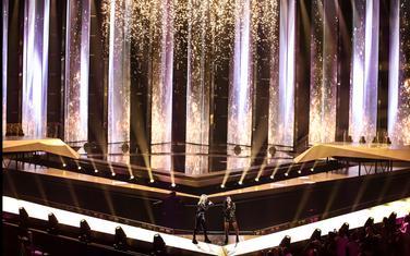 Bina na kojoj će nastupati izvođači na Eurosongu
