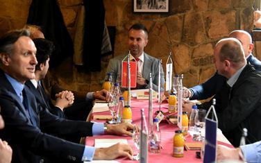 Sa ranijeg sastanka lidera opozicije